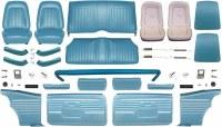 1968 Camaro Coupe Master Deluxe Interior Kit  Medium Blue