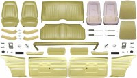 1968 Camaro Coupe Master Deluxe Interior Kit  Ivy Gold
