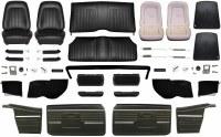 1968 Camaro Convertible Master Standard Interior Kit  Black