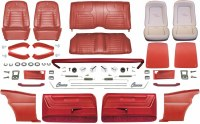 1968 Camaro Coupe Master Deluxe Interior Kit Red