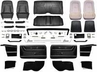 1968 Camaro Convertible Master Deluxe Interior Kit Black