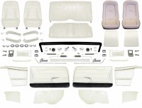 1968 Camaro Convertible Master Deluxe Interior Kit  Pearl Parchment