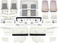 1968 Camaro Convertible Master Deluxe Houndstooth Interior Kit  White
