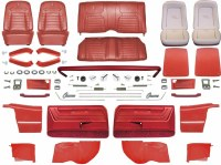 1968 Camaro Convertible Master Deluxe Interior Kit  Red