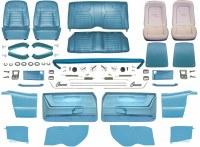 1968 Camaro Convertible Master Deluxe Interior Kit  Medium Blue