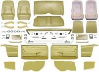 1968 Camaro Convertible Master Deluxe Interior Kit  Ivy Gold