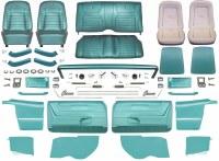 1968 Camaro Convertible Master Deluxe Interior Kit  Aqua