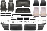1969 Camaro Coupe Master Standard Interior Kit  Black
