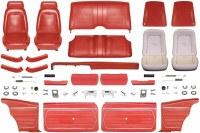 1969 Camaro Coupe Master Standard Interior Kit  Red
