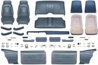 1969 Camaro Coupe Master Standard Interior Kit  Dark Blue