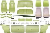 1969 Camaro Coupe Master Standard Interior Kit  Moss Green