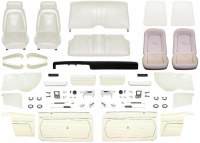 1969 Camaro Convertible Master Standard Interior Kit  White