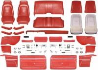 1969 Camaro Convertible Master Standard Interior Kit  Red