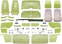 1969 Camaro Convertible Master Standard Interior Kit  Moss Green