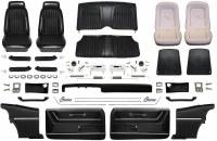 1969 Camaro Coupe Master Deluxe Comfortweave Interior Kit  Black
