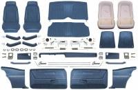 1969 Camaro Coupe Master Deluxe Comfortweave Interior Kit  Dark Blue