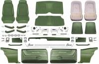 1969 Camaro Coupe Master Deluxe Comfortweave Interior Kit  Dark Green
