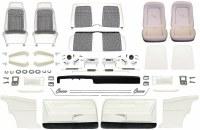 1969 Camaro Coupe Master Deluxe Houndstooth Interior Kit  White