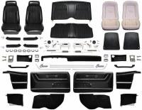 1969 Camaro Convertible Master Deluxe Comfortweave Interior Kit  Black