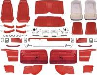 1969 Camaro Convertible Master Deluxe Comfortweave Interior Kit  Red