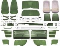 1969 Camaro Convertible Master Deluxe Comfortweave Interior Kit  Dark Green