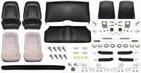 1967 Camaro Coupe Monster Standard Interior Kit  Black