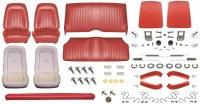 1967 Camaro Coupe Monster Standard Interior Kit  Red
