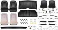 1967 Camaro Convertible Monster Standard Interior Kit  Black