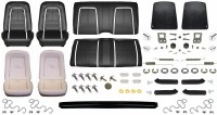 1967 Camaro Coupe Monster Deluxe Interior Kit  Black