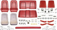 1967 Camaro Coupe Monster Deluxe Interior Kit  Red