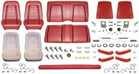 1967 Camaro Convertible Monster Deluxe Interior Kit  Red