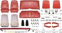 1968 Camaro Coupe Monster Standard Interior Kit  Red