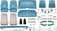 1968 Camaro Coupe Monster Standard Interior Kit  Medium Blue