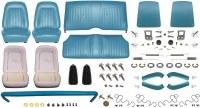 1968 Camaro Convertible Monster Standard Interior Kit  Medium Blue