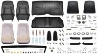 1968 Camaro Coupe Monster Deluxe Interior Kit  Black