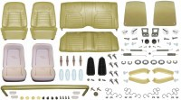 1968 Camaro Coupe Monster Deluxe Interior Kit  Ivy Gold
