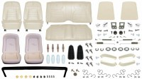 1968 Camaro Convertible Monster Deluxe Interior Kit  Pearl Parchment