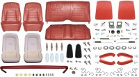 1968 Camaro Convertible Monster Deluxe Interior Kit  Red