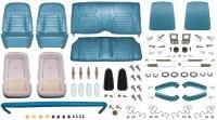 1968 Camaro Convertible Monster Deluxe Interior Kit  Medium Blue