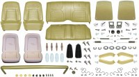 1968 Camaro Convertible Monster Deluxe Interior Kit  Ivy Gold