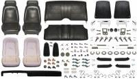 1969 Camaro Coupe Monster Standard Interior Kit  Black