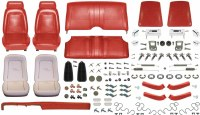 1969 Camaro Coupe Monster Standard Interior Kit  Red