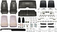 1969 Camaro Convertible Monster Standard Interior Kit  Black