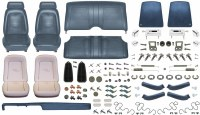 1969 Camaro Convertible Monster Standard Interior Kit  Dark Blue