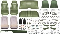 1969 Camaro Convertible Monster Standard Interior Kit  Dark Green