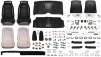 1969 Camaro Coupe Monster Deluxe Comfortweave Interior Kit  Black