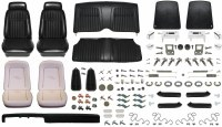 1969 Camaro Convertible Monster Deluxe Comfortweave Interior Kit  Black