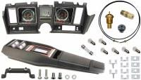 69 Camaro Tach & Console w/Gauges Conversion Kit w/PG 120 MPH 5/7K Tach