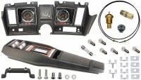 69 Camaro Tach & Console w/Gauges Conversion Kit w/PG 120 MPH 5.5/7K Tach
