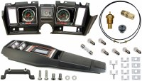 69 Camaro Tach & Console w/Gauges Conversion Kit w/Turbo 120 MPH 6/7K Tach